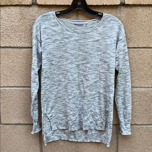 Gray marbled top